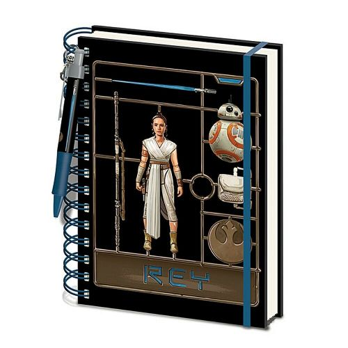 Star Wars Rey A5 Wiro Notebook Note Pad and Pen Set